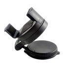ZIQIAO Car 360° Holder Mount for GPS, Mobile Phone - Black