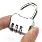 Bags Knapsack Metal Mini Password Lock - Black + Silver
