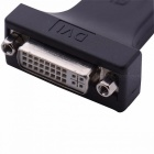 Display Port-DP Male naar DVI Female Connector Adapter - Black