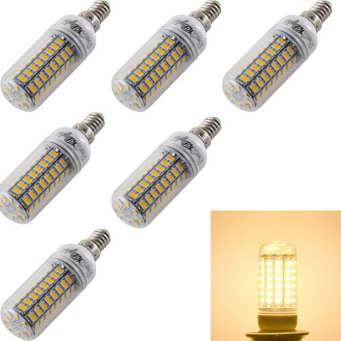 YouOKLight E14 5W LED Corn Bulb Lamp Warm White Light 3000K 1600lm 72
