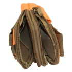 Outdoor Multifunctional Water-Resistant Waist Bag - Orange