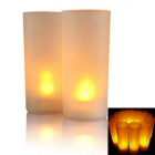 Voice Can Blow Out Electron Candle Led Twinkle Night Light (3 x AG13)