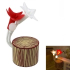 Light Induction Stakes Colorful Color Five Flower Night Light