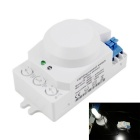 TR-803 360° Detection Angle LED Lighting Microwave Sensor Control Switch - White (AC 220~240V)