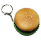 Creative Food Hamburger Style Lighter & Keychain - Yellow + Green