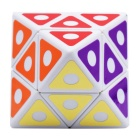 Octahedron Magic Magic Cube IQ de 8 Ejes - Azul + Amarillo + Multicolor
