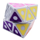 8-Axis Octahedron Magic IQ Cube - Blue + Yellow + Multi-Colored