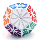 Megaminx Magic IQ Cube Educational Puzzle Toy - Multi-Colored