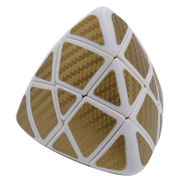 Pyramorphix Magic IQ Cube - White + Golden