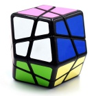 Cubo Magic IQ de cuatro ejes Dodecahedron - Negro + Rojo + Multicolor