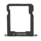 GSM/SD/TF SIM Card Slot Tray Holder WCDMA Version Fit for Huawei Ascend P7 - Silver