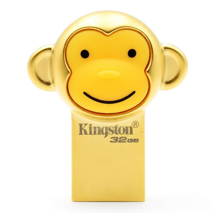 Kingston Monkey Annual Rajoitettu erä 32 Gt USB 3.1 U Flash Disk - Gold