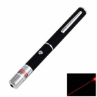 KF-10 5mW Red Laser Pointer Pen w/ Clip - Silver + Antique Silver
