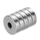10*3-3mm NdFeB Neodymium Magnets DIY Puzzle Set - Silver (5PCS)