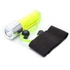 ZHISHUNJIA D3-T6 800lm White Light Diving Flashlight - Fluorescent Green (1 x 18650)