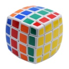 QJ4 4x4x4 Magic IQ Cube Educational Toy - žlutá + modrá + vícebarevná