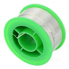 Environmental Protection 1.0mm Tin Soldering Wire - Silvery White + Green
