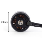 2204 MT2204 2300KV Brushless CCW del motore per OCDAY FPV 250 Corsa Quadcopter - Nero