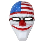 Payday Game Theme Party Festival National Flag Clown Mask