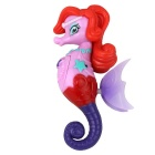 Electron Induction Swim Seahorse Princess Toy - Red + Purple + Multicolor