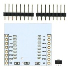 Buy ESP8266 ESP-07 ESP-12E ESP-12F Wi-Fi Wireless Transceiver Adapter Module 3.3V Regulator IC -White