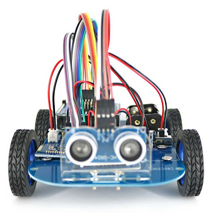 N gear motor wd bluetooth controlled smart robot car