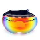 Panlees Double-Layer Anti-Fog Skiing Goggles for Myopic Glasses