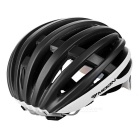 MOON HB-95 23-Hole Breathable Cycling Bike Safety Helmet w/ Removable Lens - Black + White (L)