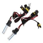 H1 12V 35W 8000K White with Blue Light HID Xenon Lamp for Car / Motorcycle - Transparent