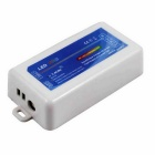 DC12~24V 12A RGB LED Lights Lamps Dimmer + 2.4G Wireless RF Controller - White + Blue