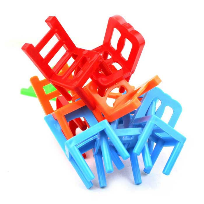 Stacking Chairs Balance Game Office Puzzle Educational Toy