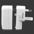 Universal 4-in-1 USB Travel AC Power Adapter/Charger with Pouch