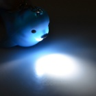 Seal Style LED Luminous Sound Making Key Chain - Blue + Black + Multicolor
