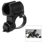 Letdooo Cycling Anti-Slip Flashlight Front Light Holder Clip Bike Clamp Mount - Black