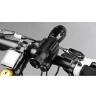 Letdooo Ciclismo Anti-Slip Lanterna Front Light Holder Clip bicicleta braçadeira Mount - Black