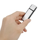 2-in-1 Mini 8GB USB 2.0 Flash Drive Rechargeable Voice Recorder - Silver + Black