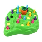 Challenge Stimulate Obstacle Rabbit Motocross Toys Trap Game - Green + Black + Multicolor