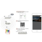 Smartphone Mini Wireless Wi-Fi Dimmer Controller für RGBW LED Lichter