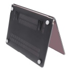 "AiBOUSA Balance style Housse de protection w / Crystal / Support pour MacBook Retina 12 ""- Noir"