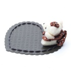 Lovely Bear Style Car Anti-Slip Mat Pad - Coffee + White