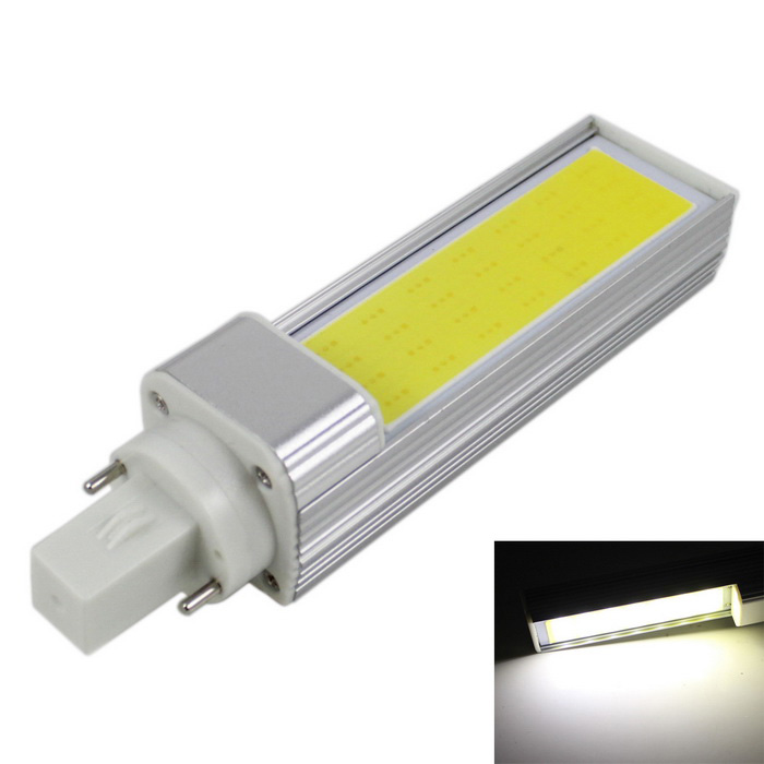 KINFIRE G24 9W 720lm 6000K LED COB Cold White Lamp (AC 85~265V)