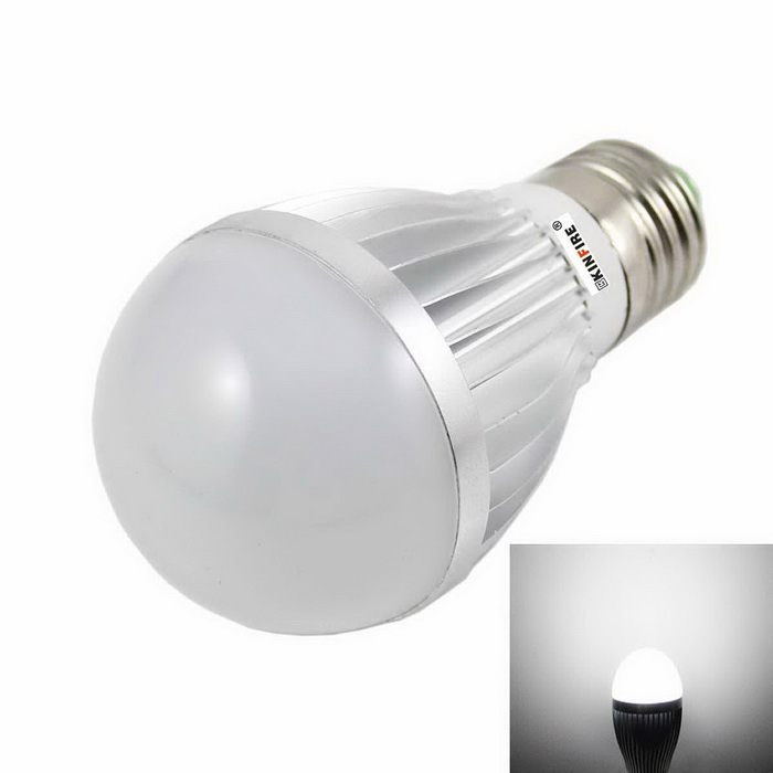 KINFIRE E27 5W 10-5730 SMD LED Bulb Cold White Light (12V)