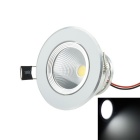 3W 240lm 3200K LED Warm White Ceiling Light - Silver (AC 85~265V)