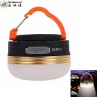 Zhishunjia SJ-A01 Warm White LED 300lm Camping Light - Black + Golden (1800mAh)