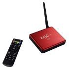 Amlogic S905 MXPLUS 4K UHD Android 5.1.1 Lollipop Quad-Core 64-Bit H.265 TV Box w/ 8GB ROM - Red