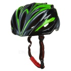 CTSmart X8 Outdoor Cycling 24-Hole Breathable Ultralight EPS + PC Bike Safety Helmet - Black + Green