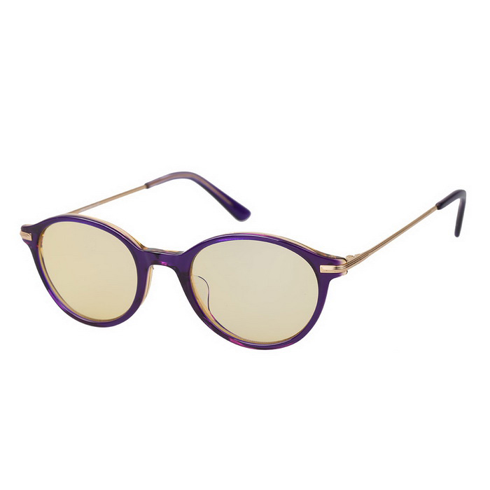 MOBIKE Computer Anti-Radiation 80% Blue Light Protection Glasses - Purple