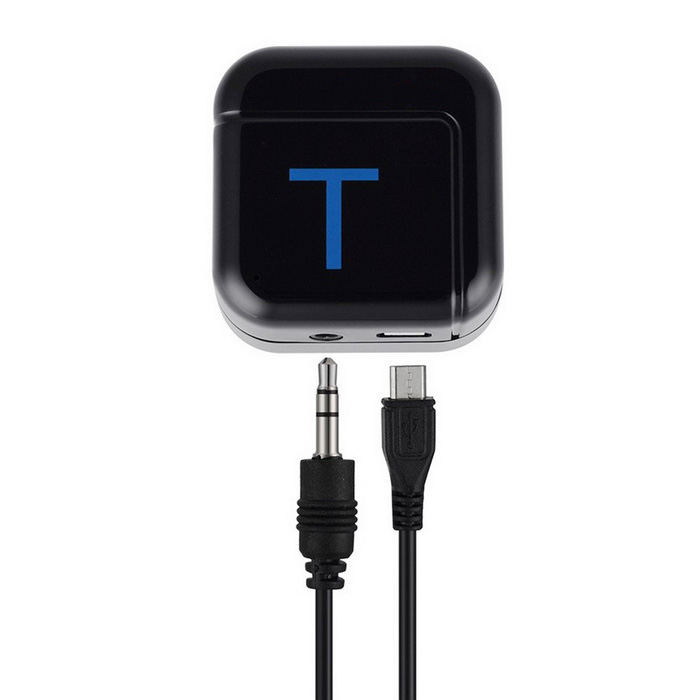 3.5mm AUX Stereo Trasmettitore di musica audio Bluetooth V2.1 - nero