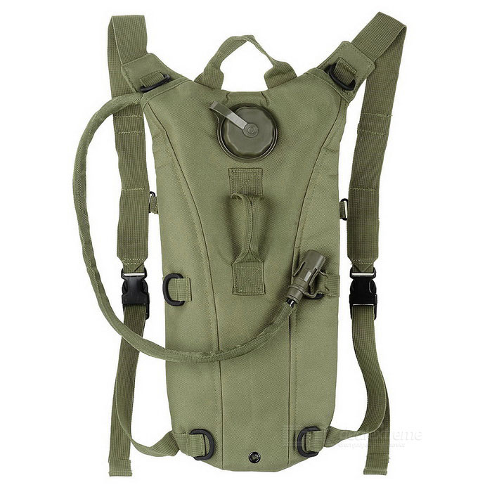 CTSmart Cycling Water Bag Hydration Bladder Backpack - Army Green