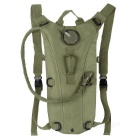 CTSmart Outdoor Cycling Mountaineering Water Bag Hydration Bladder Backpack - Army Green (2.5L)